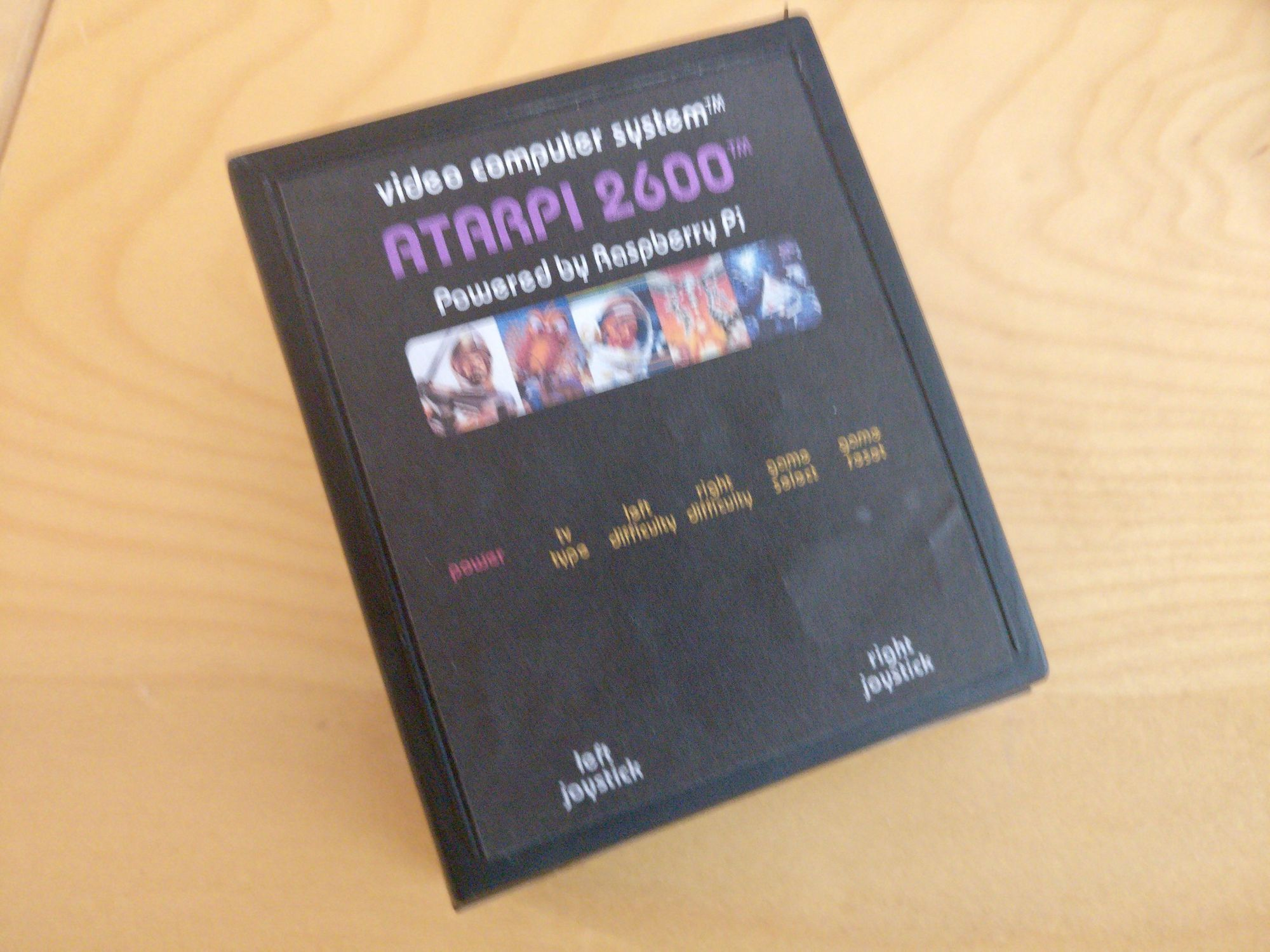 An Atari 2600 in a Cartridge