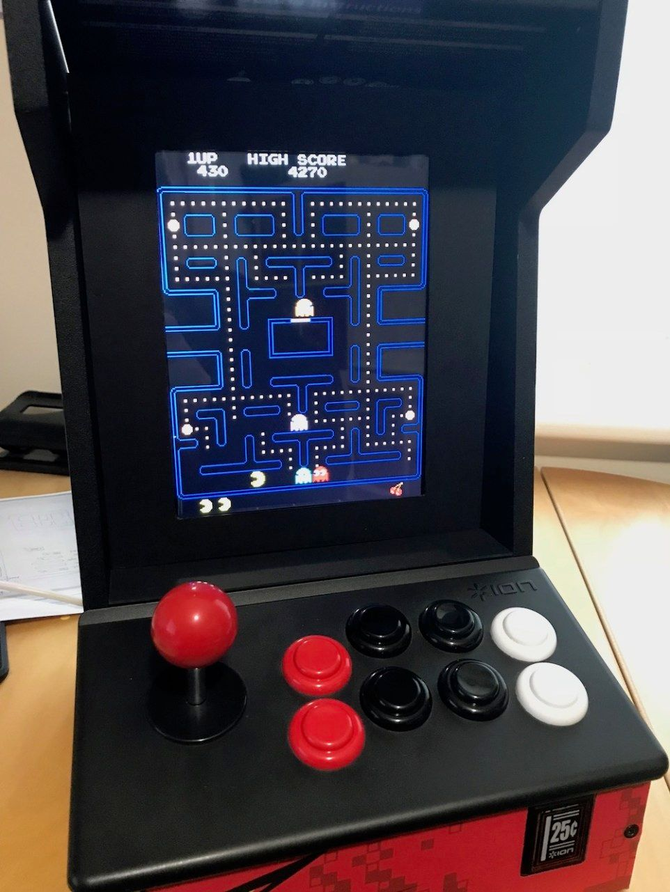 Raspberry Pi + iPad Screen + iCade = Bartop